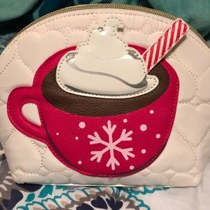 Hot Chocolate cosmetic bag